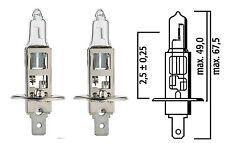2 Flösser 13130 H1 12 Volt 130W Halogen Bulbs - Warning Emergency Driving Lights