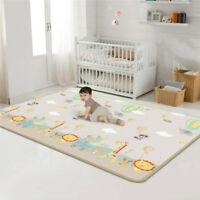 Foldable XPE Baby Kids Play Mat Crawling Picnic Alphabet Floor Rug   LL