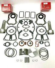 ENGINE REBUILD KIT FITS KOHLER KT17, M18, MV16 GASKET SET, PISTONS & RINGS, RODS