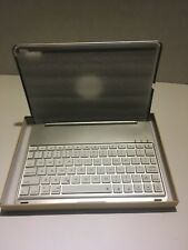 Bluetooth Keyboard Cover Cover for Apple iPad Pro 9.7 WLED F8Spro Silver#
