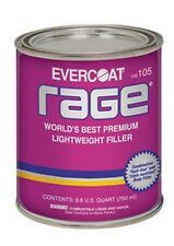 Rage Premium Lightweight Body Filler, 1-Quart FIB-105 Brand New!