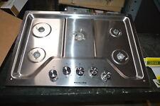 "KitchenAid KCGS350ESS 30"" Stainless Gas 5 Burner Cooktop #23124"