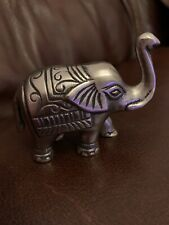 Good Luck Metal Elephant Silver In Colour Made In India