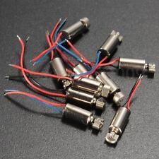 10X 4x8mm DC 1.5-3V Micro Coreless Vibrating Vibrator Vibration Motor Cell Phone