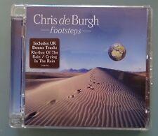 Chris de Burgh - Footsteps CD Album - w/ UK Bonus Tracks
