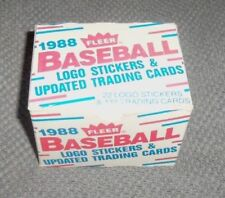 1988 Season Set Baseball Trading Cards
