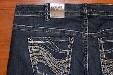 NWT Lane Bryant GENIUS Fit BOOT Cut Blue Jeans - Women Size 22 Reg - MSRP=$79.95
