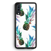 Ananas Tropical Blau Grün Samsung Galaxy A70 Silikon Hülle Motiv Design Tropi...