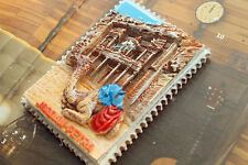 Jordanien PETRA Reiseandenken Souvenir 3D Polyresin Kühlschrankmagnete Magnet