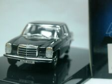 WOW EXTREMELY RARE Mercedes W115/8 220D Black 1:43 Auto Art-200/W114/Minichamps