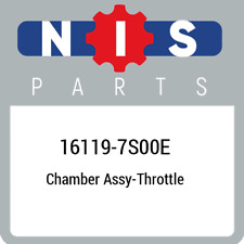 16119-7S00E Nissan Chamber assy-throttle 161197S00E, New Genuine OEM Part