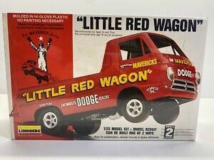 Lindberg 1:25 Scale Dodge Little Red Wagon Bill Maverick Sealed Boxed Model Kit