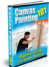 Canvas Painting learn to paint like a pro Oils Versus Acrylics Cd-rom