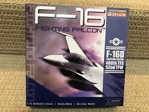 Dragon Wings-Warbirds 1:72 F-16D Fighting Falcon, 480 TFS, 52 TFW, No. DRA50025