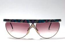 Vintage Casanova Avantgarde Noseguard C06 Mask Rose Lens Sunglasses 80'S Italy