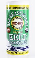 Maine Coast Sea Vegetables - Kelp Granules, 1.5 oz. - Organic Seaweed