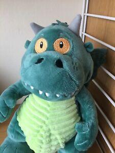 John Lewis Waitrose Excitable Edgar Dragon Soft Toy VGC