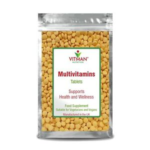 Multi Vitamin and Mineral Maximum Health Booster Immune System Protection Tablet