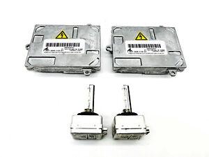 2x New OEM for 05-09 Saab 9-7x Xenon Ballast & Bulb Kit Control Unit Module Lamp