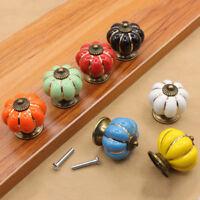 Antique Pumpkin Drawer Cupboard Furniture Door Pull Kitchen Cabinet Handle Knob