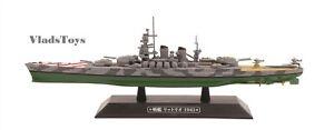 Eaglemoss 1:1100 Diecast Italian Regia Marina battleship Littorio - 1943 #25
