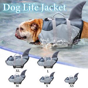 XS-XL Universal Dog Life Jacket Pet Swim Clothing Float Coat Safety Vest