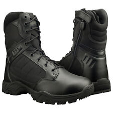 "Magnum Mens RESPONSE II 8"" Side Zip Black Police Army Combat Tactical Boots 5283"