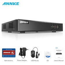 ANNKE 5IN1 H.264+ 8CH DVR Video Recorder CCTV Security Camera TVI System IP66 UK