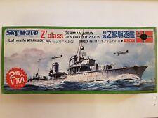 Pit-Road Skywave 14 German Navy Destroyer Z-Class 1:700 Neu und eingetütet