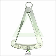 Lwanson Crown Caliper Wax Gauge Dental Tenth Diamond Iwanson Lab Instruments CE