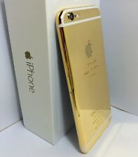 CUSTOM 24k Gold Plated iPhone 6 Plus - 64GB - (Unlocked) Verizon Tmobile White