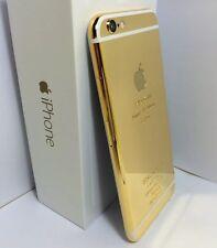 CUSTOM 24k Gold Plated iPhone 6 Plus - 64GB - (Unlocked) Verizon Tmobile White