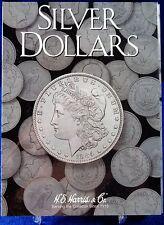HE Harris Silver Dollars Plain (No Dates) Coin Folder, Album, Book # 2665