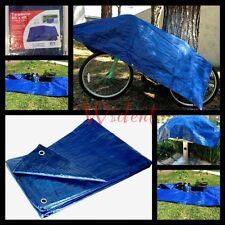 4x6 Tarpaulin Blue Tarp Multipurpose Cover BBQ Grill Pool Bike Tent Ground