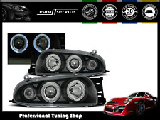 FARI ANTERIORI HEADLIGHTS LPFO15 FORD FIESTA MK4 1995-1997 1998 1999 ANGEL EYES