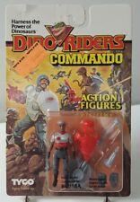 Dino Riders Bomba Commando Action Figures 1987 TYCO MOC