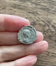 ROMAN. PLAUTILLA (MARRIED TO CARACALLA IN 202 A.D). SILVER DENARIUS.