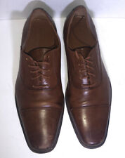 1901 Nordstrom Mens Brown Leather Wing Tip  Classic Dress Shoes Sz 9