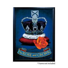 ROSE & CROWN PUB SIGN POSTER PRINT | Home Bar | Man Cave | Pub Memorabilia