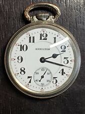 Beautiful 1950 Hamilton 16 Size, 21 Jewel, 992 B Pocket Watch