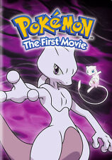 Pokemon: The First Movie - Mewtwo Strikes Back (DVD,1999)
