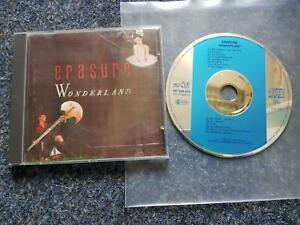 Erasure - Wonderland CD Germany/ blauer Balken