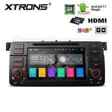 """AUTORADIO 7"""" ANDROID 7.1 QUAD-CORE BMW e46 rover 75 GPS DVD 4G Navigatore"""