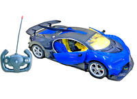 **BUGATTI VEYRON**  Radio Remote Control Car LED Lights 1/14 Rechargeable Boxed