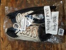 Voltage PV83 Dance Sneakers By Sansha, Size 3M (child), Ivory & black