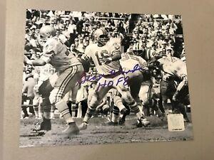 George Blanda Oakland Raiders HOF 81 Signed Autographed 8x10 Photo