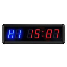 GYM Crossfit Timer LED Interval Timer Count Down/Up Clock Stopwatch with Remot