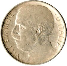 More details for coin / italy / 50 centesimi 1925r reeded edge /rare   #wt1667