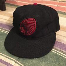 Rugby Ralph Lauren Ebbit Field Flannels Wool Indian Head Cap Hat 7 1/8 Xs