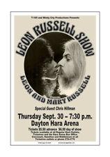 Leon Russell 1976 Dayton Concert Poster